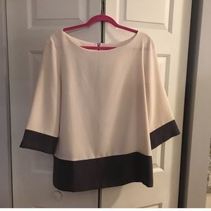 Loft colorblock top